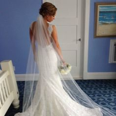 So this is the one! I am obsessed with this wedding dress. The back of my dream dress