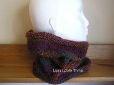 Ladies Hand knitted Cowl - The Supermums Craft Fair