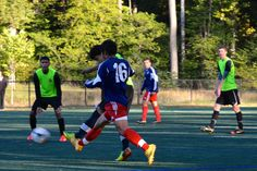 Team America 96 (TAFC96) vs BFC Barca 96 Elite (NCSL U18/U19 Division 1, October 5, 2014)- Jose Ormeno-Fernandez #16, Josaphat Letona #13