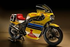 The mighty Suzuki XR41 Endurance Racer, the bike that started the bike that started it all, as far as the modern superbike goes; the 1985 Suzuki GSX-R750. This, is the stuff, of legends!