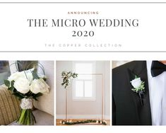 Check out the three options created for the 2020 couple.  Select from NATURE, COPPER or WHITE COLLECTION. Packages can be tailored to your ceremony. Ask us how! Home Wedding, Wedding Events, Weddings, The Third Option, Maybe One Day, Copper, Nature, Check, Collection