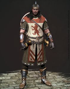 Medieval Warrior - Real time