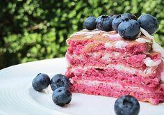 Pancakes cu sfecla si afine Blueberry, Pancakes, Deserts, Fruit, Breakfast, Food, Morning Coffee, Berry, Essen