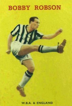 Bobby Robson of West Brom in 1958.