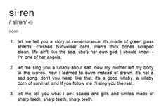 Siren definition