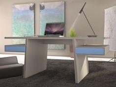 Bureau. Mod.BREMEN Office Desk, Corner Desk, Furniture, Home Decor, Couches, Mesas, Solid Wood, Bremen, Corner Table