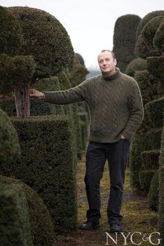 British landscape designer Arne Maynard is the author of the new book, The Gardens of Arne Maynard.