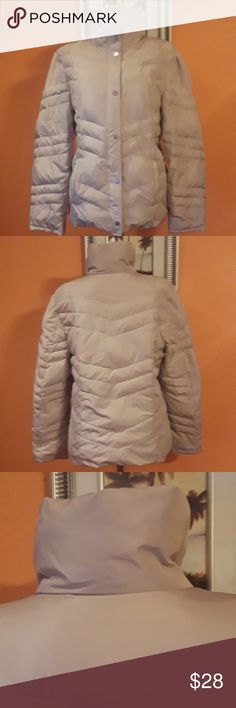 Kenneth Cole Reaction Jacket (women's) Kenneth Cole Reaction Jacket (women's),shell, 100%polyester,lining, 100%polyester,filler,60%duckdown, 40%waterfowl feathers color beige Kenneth Cole Reaction Jackets & Coats