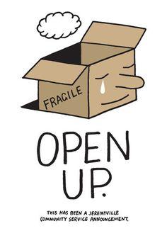 Jeremyville Corner Store — Open Up