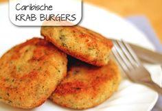 Deze burgers maak je van krabvlees, zoete aardappelen en kruiden. Zelfs Sponge Bob zou ze goedkeuren… met een sausje en een beetje hete peper smaken ze het beste!