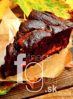 Čokoládovo-tekvicový brownies z gaštanovej múky