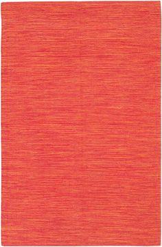 Orange India Rug #rosenberryrooms