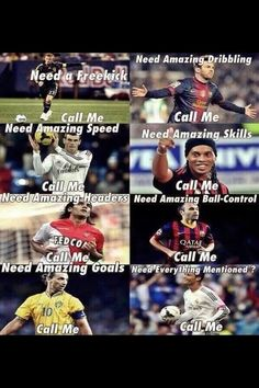 That all of those soccer player's can do their skills but Ronaldo is best so he could all of the things that they do. Cr7 Messi, Messi Vs Ronaldo, Cristiano Ronaldo Memes, Messi Soccer, Neymar Jr, Lionel Messi, Funny Football Memes, Funny Sports Memes, Soccer Humor