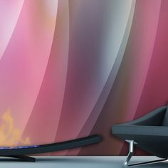 Multiverse Wallpapers By Karim Rashid To Brighten The Space - DigsDigs Karim Rashid, Fantastic Wallpapers, Patterns In Nature, Different Patterns, Home Decor Inspiration, Decor Ideas, Decoration, Modern Contemporary, House Design