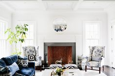 Home Tour: A Preppy Connecticut House With Ladylike Details | DomaineHome.com