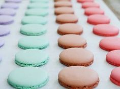 Macarons backen