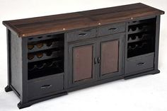 Reclaimed Furniture. I would like this with a piece of marble on top to make it look a little more modern.