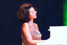 Khatia Buniatishvili at the Fortress Akkerman, Odessa Province | At charity concert in Ukraine 2015