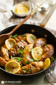 This is a pan-fried Clean Eating lemon chicken recipe. You will learn a simple technique to make quick, healthy chicken fingers then add your choice of sauce or use in a salad. This recipe is much more about the technique than the ingredients. It's a great weeknight meal to make for the whole family. I'veContinue