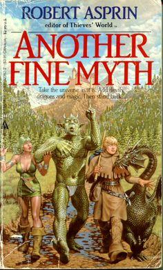 Robert Asprin's Myth Series, (about 15 books)