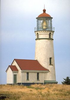 Cape Blanco Lighthouse in Port Orford, Oregon.  Go to www.YourTravelVideos.com or just click on photo for home videos and much more on sites like this.