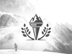 Ampelis Torch Logo Concept