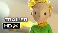 The Little Prince Official Trailer #1 (2015) - Marion Cotillard, Jeff Br... looks so sad