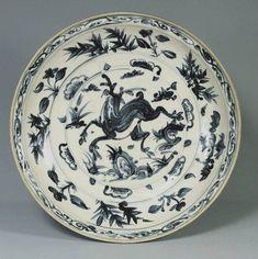 Plate, Vietnam, Lê dynasty (15th – 16th century) - A.lain R. T.ruong