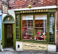 Chocolaterie store front. Just beautiful. I would come here every day to buy fresh chocolates for the evening if I could.