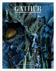 Brand new for Fall/Winter 2014 - Gather Journal - recipe-driven journal with crazy good photos. In-store at Domestica.