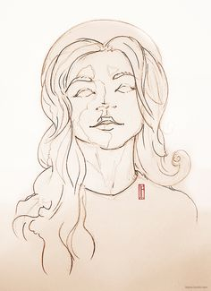 She... #illustration #model