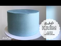 TORTABURKOLÁS krémmel 🎂 - Vajkrém RECEPT - BebePiskóta - YouTube Fondant, Birthday Cake, Baking, Desserts, Youtube, Food, Recipes, Tailgate Desserts, Deserts