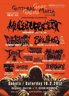 Long Live The Loud 666: GUTTURAL GORE GRIND MAFIA 9 WITH: MUCUPURULENT,PUL...