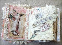 """ILuvVintageScrap: """"A Ladies' Diary"""" Diary"""