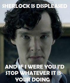 Sherlock is Displeased by ~RunForYourSanity  Fan Art / Anthro / Digital / Movies & TV