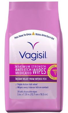 Feel Comfortable with Wipes Feminine itching can be uncomfortable. Vagisil Medicated Anti-Itch Wipes are great to give relief from feminine itching. These anti-itch wipes contain a maximum strength itch medicine in a soft and convenient Feminine Itch, Feminine Wipes, Feminine Hygiene, Itch Relief, Wipe Away, Personal Hygiene, Personal Care, What Makes You Happy, Health And Beauty