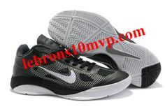 Nike Zoom Hyperfuse Low 2010 Shoes Black Cool/Grey/White Jordans Sneakers, Air Jordans, Nike Zoom, Grey And White, Black Shoes, Fashion, Black Loafers, Moda, Fashion Styles