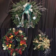 Live Christmas wreaths