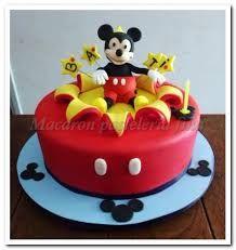 Resultado de imagen para tortas para niños mickey mouse