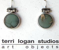 Terri Logan earrings, available at Good Goods in Saugatuck, MI!  www.goodgoods.com