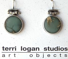 Terri Logan earrings, available at Good Goods in Saugatuck, MI!  www.goodgoods.com