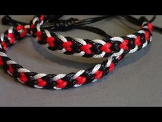 Kumimari 37: 20 Strand Bracelets 2: Flower Lattice/Celosia de Flores - YouTube