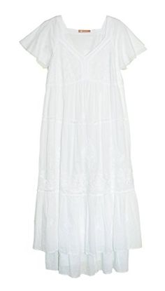 La Cera Womens Gown 1X White Plus Size -- To view further for this item, visit the image link.