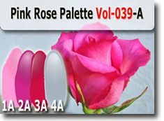 Pink Rose Color Palette by Polymer Clay Tutor