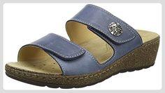 Think Damen Cambio Pantoletten, Blau (Saphir/Kombi 90), 38 EU