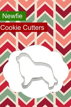 Make your holiday cookies extra special this year with dog breed cookie cutters. These are so fun to decorate and you can use them for more than just cookies! Newfoundland Dog Cookie Cutters - My Brown Newfies Dog Cookie Cutters, Sugar Cookie Dough, Plastic Cutter, Newfoundland Dogs, Dog Cookies, Dog Products, Handmade Copper, Diy Dog, Holiday Cookies