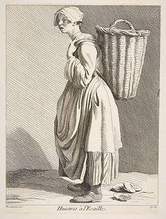 Oyster Seller Anne Claude Philippe de Tubières, Comte de Caylus  (French, Paris 1692–1765 Paris)