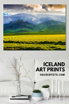 Iceland Art Prints for your Home Decor, more than 300 photos with wonderful landscapes, nature and architecture. Dive in here and enjoy the land of fire and ice: https://matthias-hauser.pixels.com/collections/iceland+landscape+and+nature #iceland #prints #artwork #landscapearchitecture