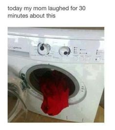 The Laundry Monster…. Kill it!