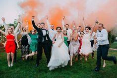 """Самая веселая свадьба в главной свадебной резиденции Киева - """"Горный ручей"""""""